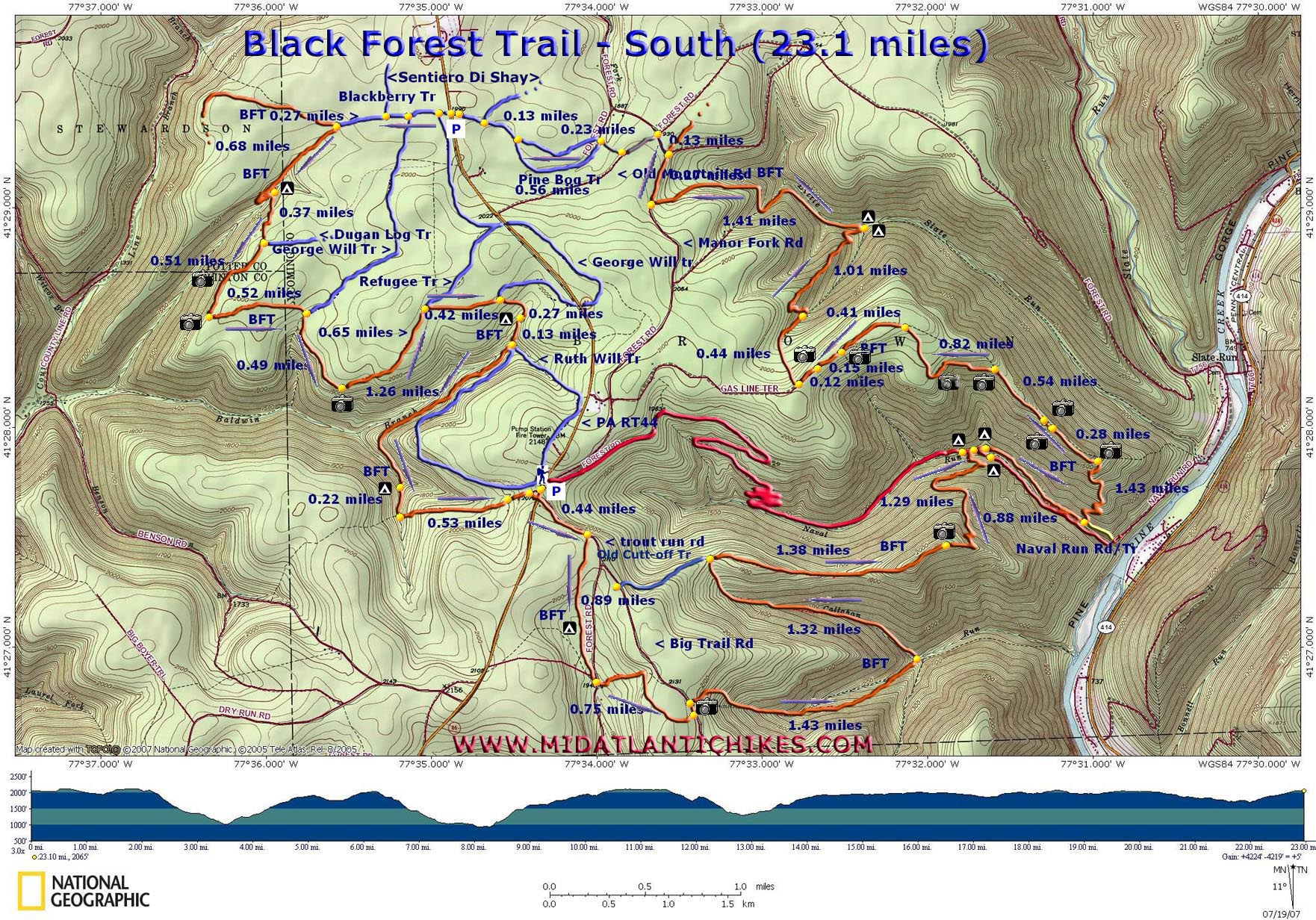 Black Forest Trail South