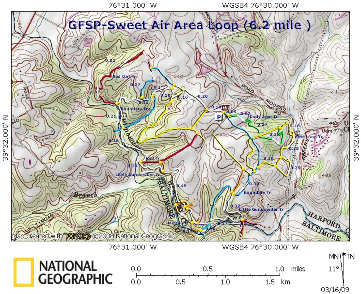 Gunpowder Falls State Park Map Sweet Air