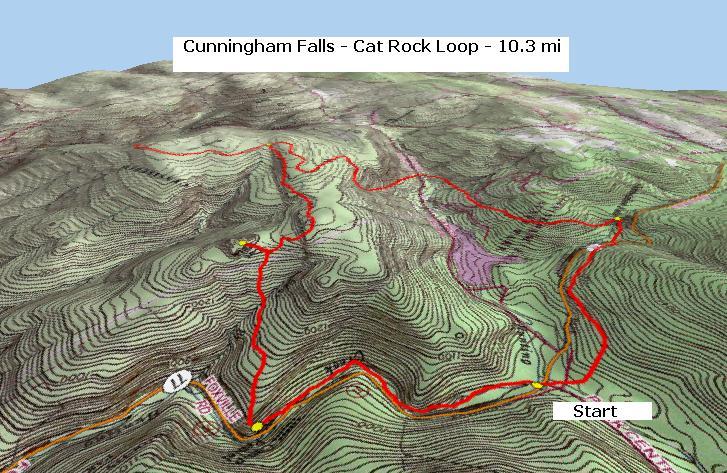 Cat Rock Circuit Cat Rock Park Trail Map on
